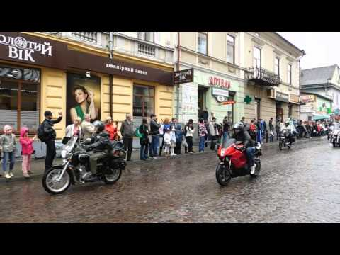 Відкриття мотосезону від місцевого мотоклубу WILD BIKER MCC м.Івано-Франківськ 7.05.2016