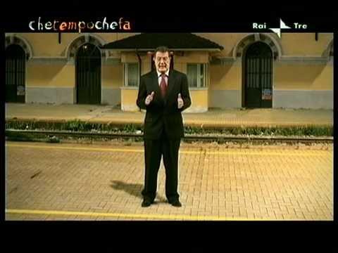 Corrado Guzzanti imita Di Pietro e Prodi – Che tempo che fa (11-10-2009)