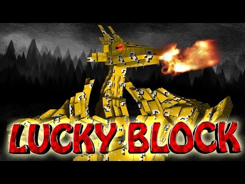 Minecraft | Lucky Block Boss Challenge - Lucky Dragons! (ultimate Bosses, Dragons, Lucky Block) video