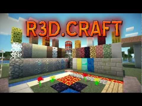 Minecraft Texture Pack: R3d.Craft ( 512x, 256x, 128x, 64x )