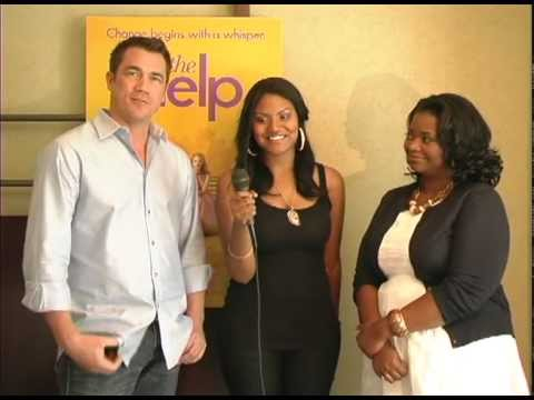 Octavia Spencer (Academy Award winner) and Tate Taylor from The Help - Book Look Xtra