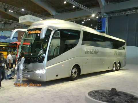 EXPO FORO 2008 autobuses irizar volvo scania man setra bus expo busworld