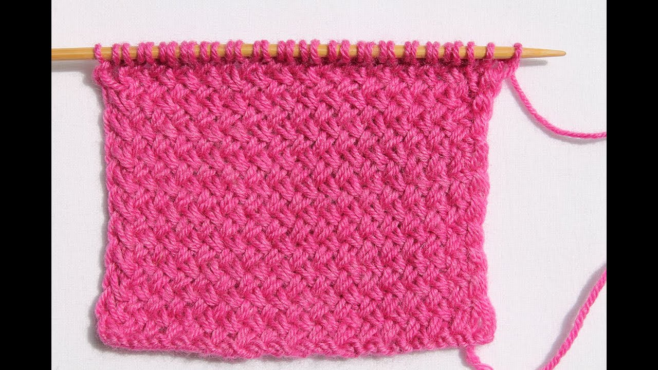 узор плетенка на круговых