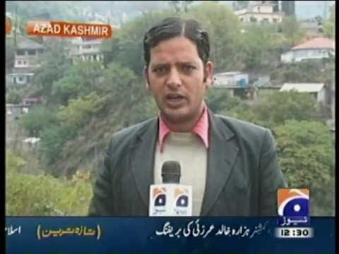 Naeem Geo News Report: weather in Muzaffarabad Azad Kashmir.mpg