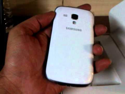 Samsung Galaxy S Duos S7562 (Pure White) Unboxing. review. bought from