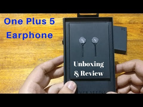One Plus 5 Earphone Unboxing and Reviews | OnePlus Bullets V2 Earphones Unboxing & Review