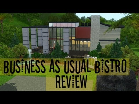 The Sims 3 Store Review: Business As Usual Bistro