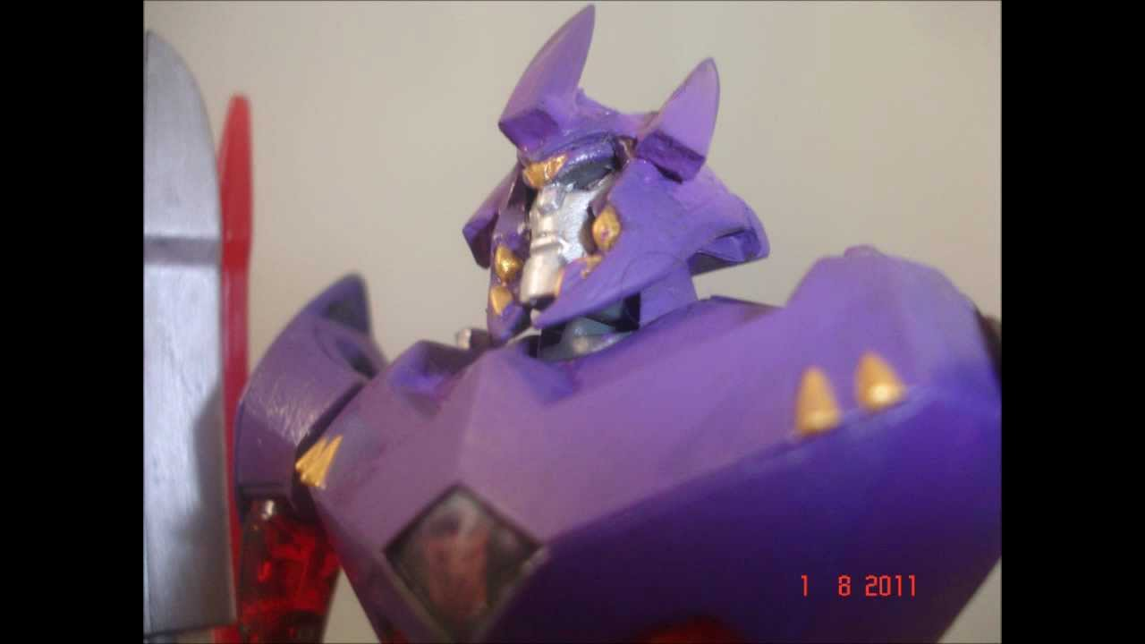 Custom Transformers Animated: Galvatron - YouTube