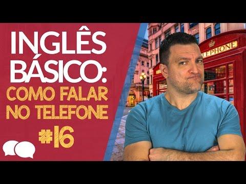 Aula de ingles Basico 16 - Como falar no telefone