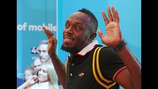 When Usain Bolt arrived at 2018 Commonwealth Games as a spectator