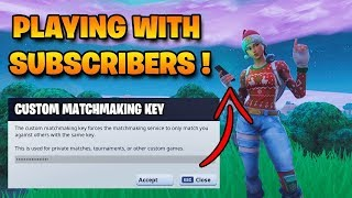 🔴 Custom Matchmaking Games - Playing Hide & Seek with Viewers! (Fortnite Livestream)