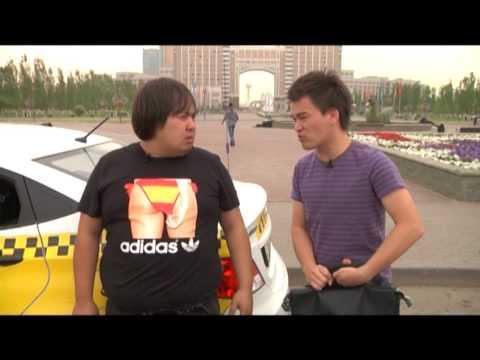 """скетч-шоу """"Куырдак"""" (такси и студент)"""