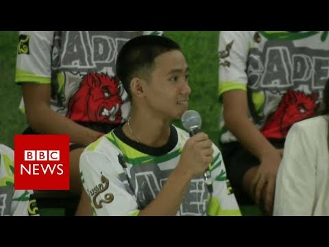 Thailand cave rescue: Boy 'shocked' to be found - BBC News
