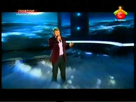 Х- фактор (X-Factor) Алексей Кузнецов и  Alessandro Safina. Эфир № 10
