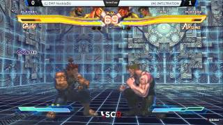 SFxT EMP NuckleDu vs Infiltration - Socal Regionals 2014 Day 2 Grand Finals