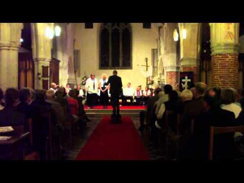 Laudamus Te.  Performed by Jane Vickers & Carole Woolnough of Opus 5