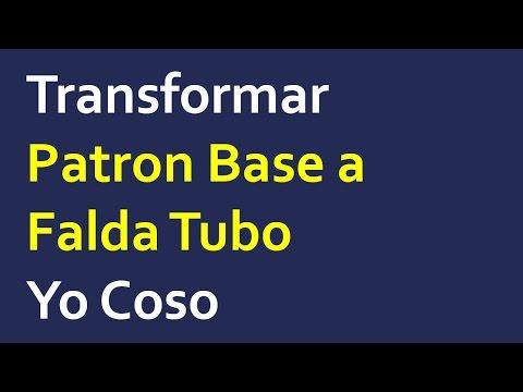 5.1 : Transformación Falda Tubo