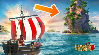 NEW ISLAND FOOTAGE! Clash of Clans LEAKED Update May 2017 (Double Canon & New Dock!)