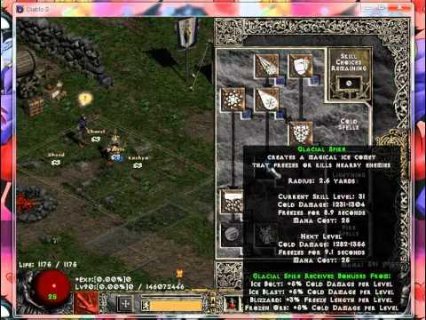 Diablo  Meteorb Sorc Build