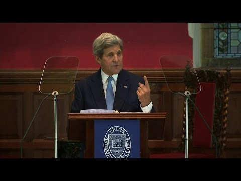 Secretary Kerry Discusses Counter ISIL Coalition's Progress