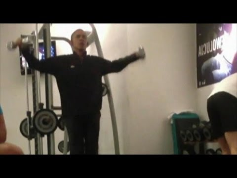 Obama Workout Caught on Camera