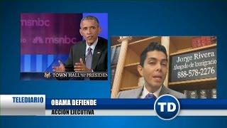 Obama habla a los inmigrantes en foro de Telemundo