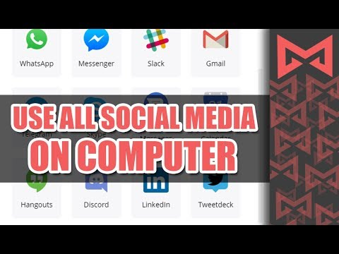 Use Whats App, Messenger,Twitter Etc on Computer [Urdu/Hindi]