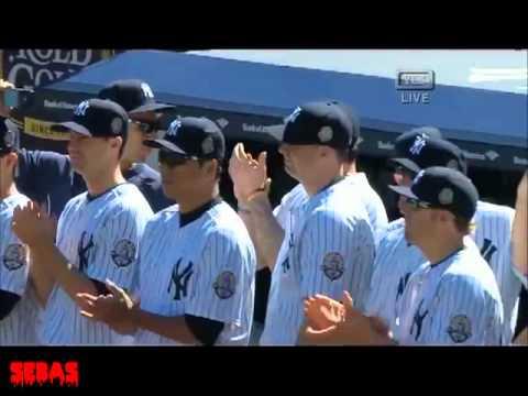 Metallica performed Enter Sandman at Yankee Stadium   Mariano Riveras Day