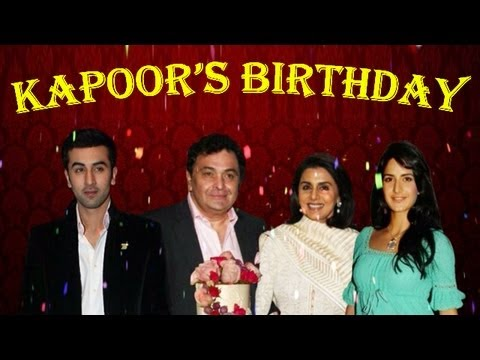 Katrina Kaif at Rishi Kapoor's birthday party with Ranbir Kapoor & Neetu Kapoor | Exclusive