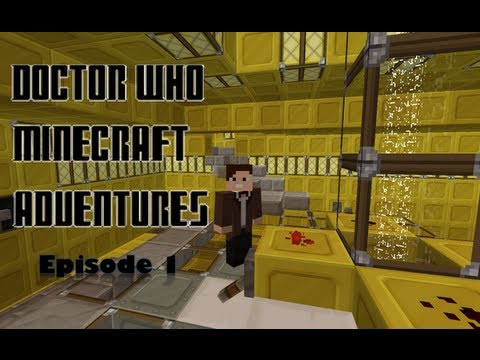 Doctor Who Minecraft Adventures Ep.1: A Ghastly Welcome