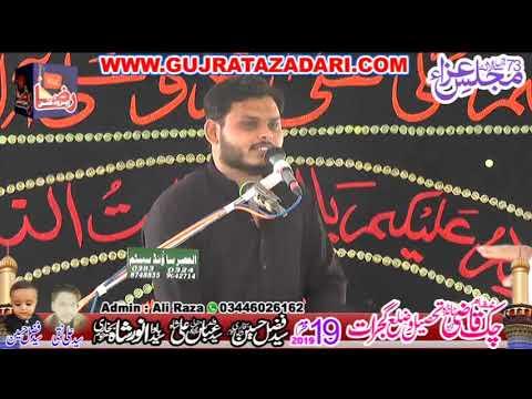 Allama Syed Zeeshan Haider Naqvi | 19 Muharram 2019 | Qazi Chak Gujrat || Raza Production