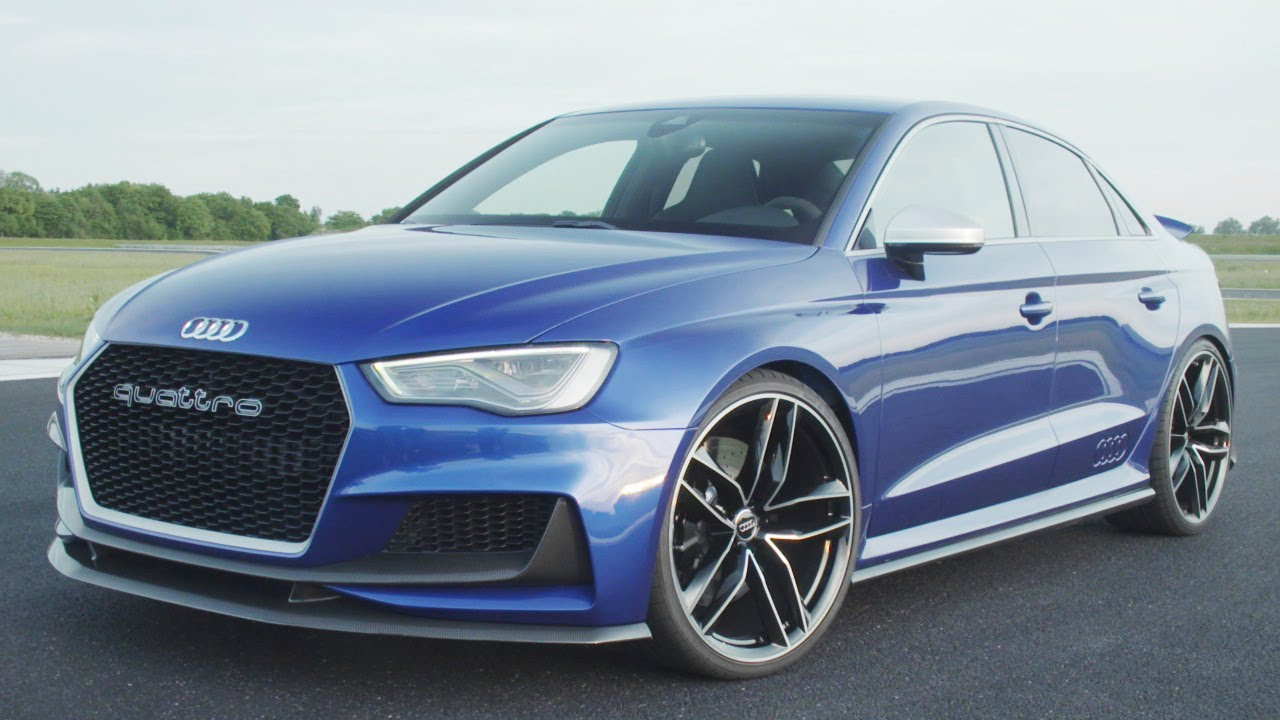 New Audi A3 Clubsport Quattro Concept Future Rs3 Youtube