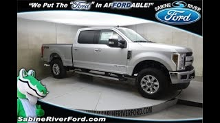2019 Ingot Silver Ford F-250SD 4D Crew Cab #7582