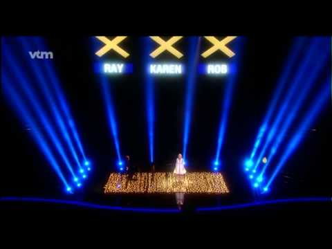 Karolien Goris - 1/2 finale Belgium's Got Talent