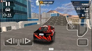 """Smash Car Hit - Impossible Stunt """"Red Sparrow"""" Speed Car Games - Android gameplay FHD #2"""