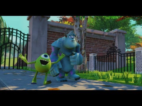 Disney Infinity - Monsters University Play Set - Part 1