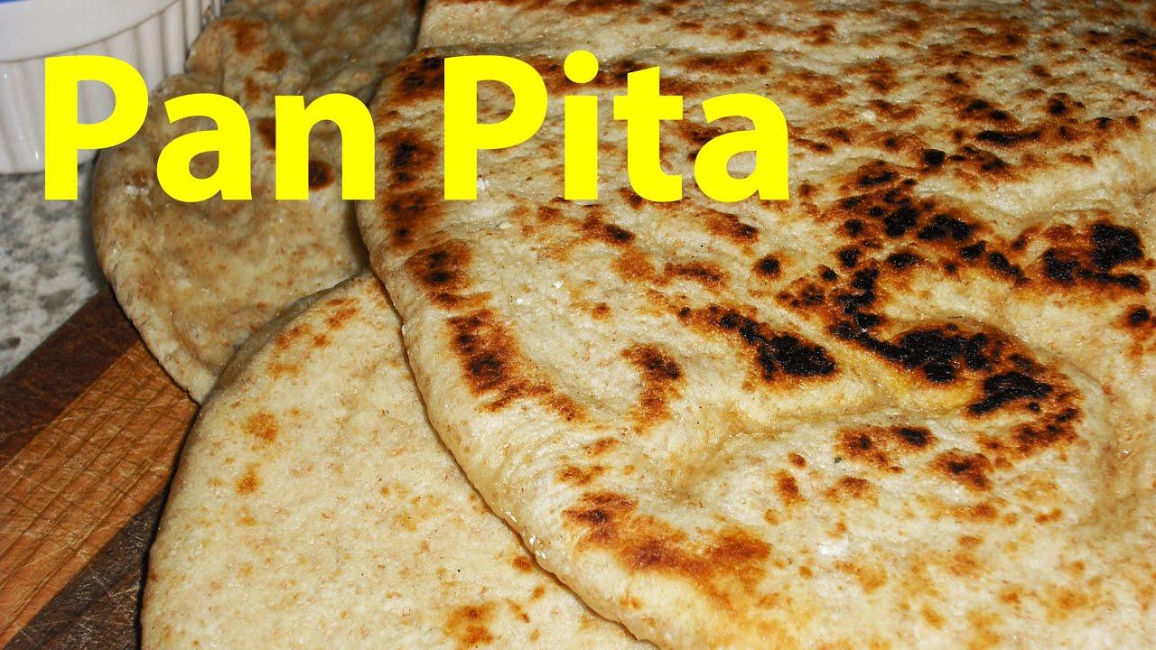 Receta De Pan Pita Integral Paso A Paso Youtube