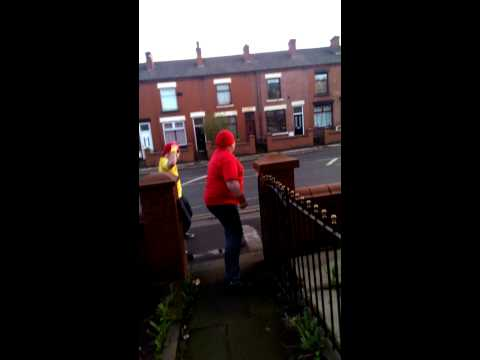 The Hogans take to the streets of Bolton