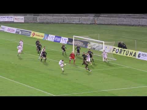 FNL 2017/18 16.kolo FC Hradec Králové - 1.SC Znojmo 1:1(0:0)