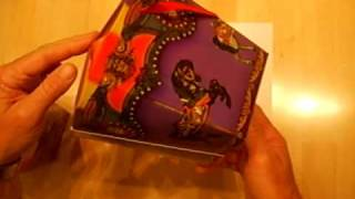 Carousel Gift Box-similar To Origami Gift Box