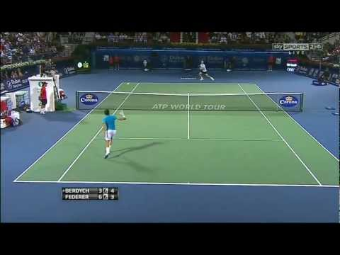 Roger Federer lost in the semi-finals of the 2013 Dubai Duty Free Tournament in Dubai. This video contains the best points he played during this tournament.