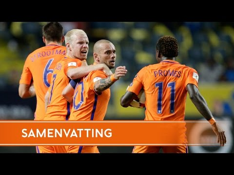 Highlights Zweden - Nederland (7/9/2016)