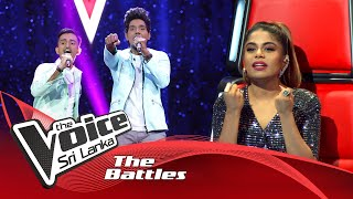 The Battles : Prabath Darshana V Vimukthi Jayashan | Saragi Asille | The Voice Sri Lanka