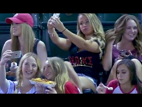 Sorority Girls Take Selfies During Baseball Game   What's Trending Now