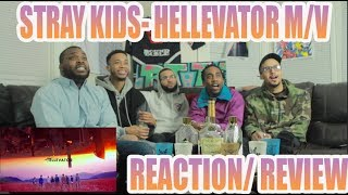 FIRST STRAY KIDS- HELLEVATOR M/V REACTION/ REVIEW