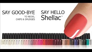 FOILS SHELLAC NAILS AND FOILS TUTORIAL.Come applicare i foil su Shellac polish.