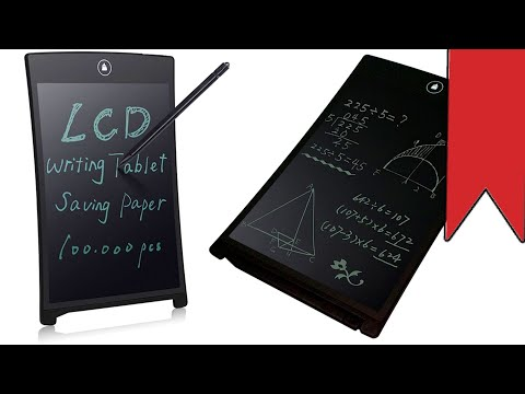 LEMHU 8.5 LCD планшет для рисования на экране | тест и полный обзор