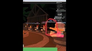 REAL GHOST CAUGHT ON CAMERA WHILE PLAYING SURVIVOR! | Roblox