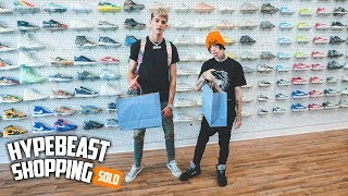 Lil Xan Goes Hypebeast Shopping