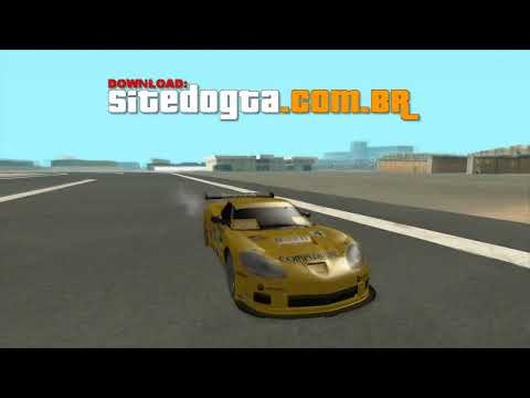 MOD Chevrolet Corvette C6 Drift GTA San Andreas